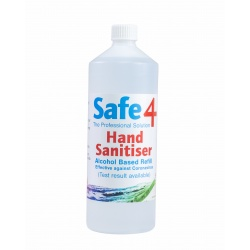 1L REFILL Alcohol Hand Sanitiser - Effective against Coronavirus
